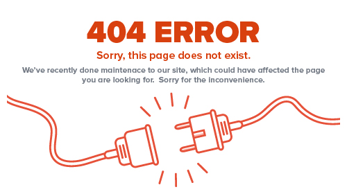 404 Error. Sorry, this page does not exist. We've recently done maintenance to our site, which could have effected the page  looking for. Sorry for the inconvenience.